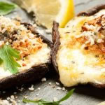 Havarti Portobello Stuffed Mushrooms