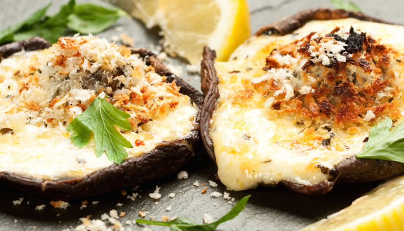 Stuffed Portobello Mushroom Recipe Havarti Cheese Recipes