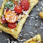 Parmigiano Reggiano Roasted Cherry Tomato and Pine Nut Tarts e1523543884271