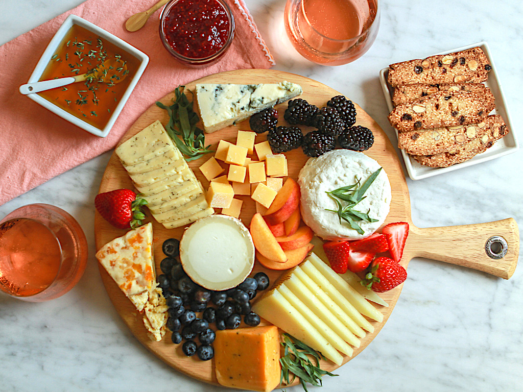 Spring and Summer Cheeseboard