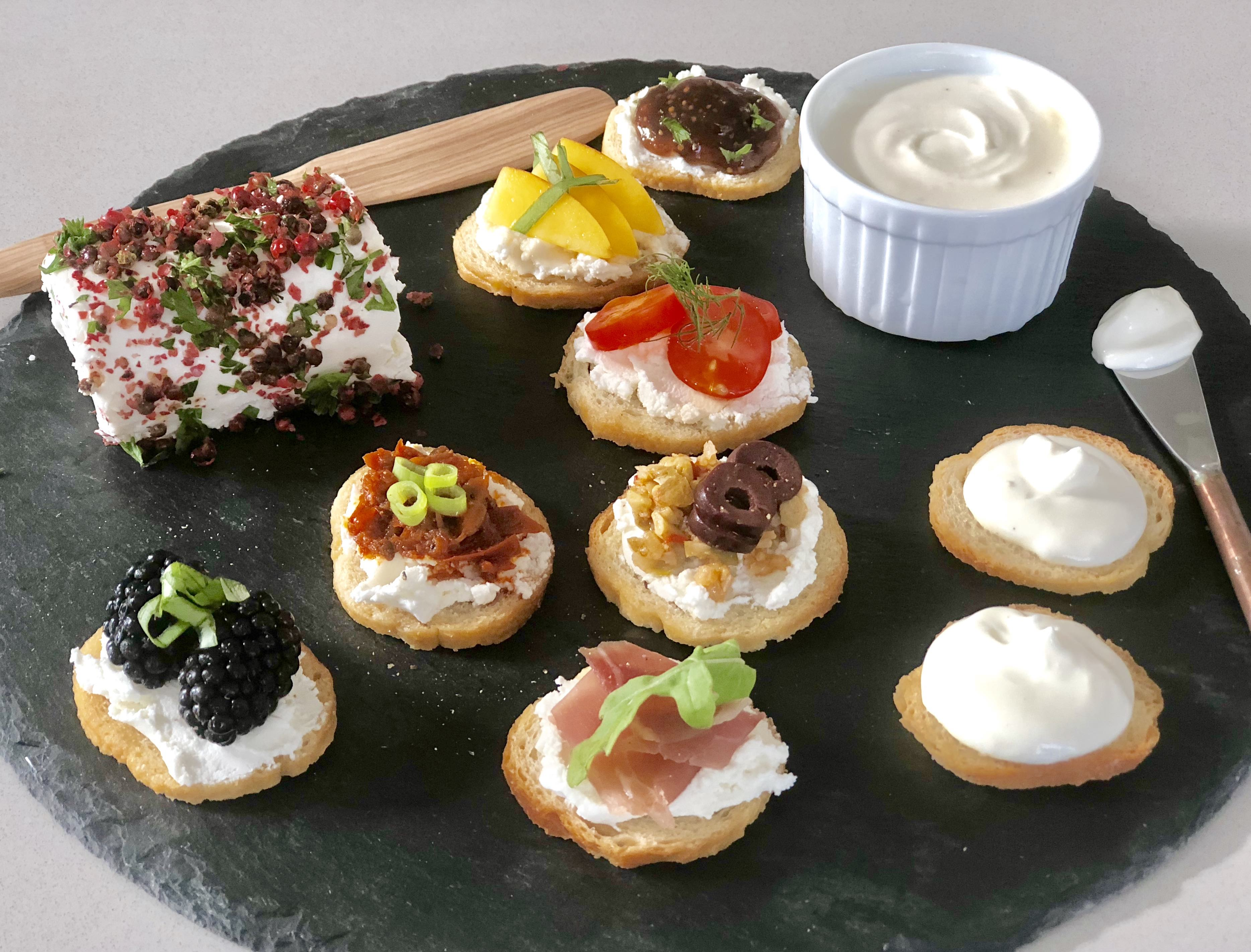 goat cheese appetizers