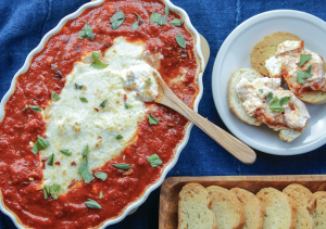 Goat Cheese Marinara Dip Recipe