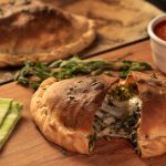 Garlic Provolone Broccoli Rabe Calzone
