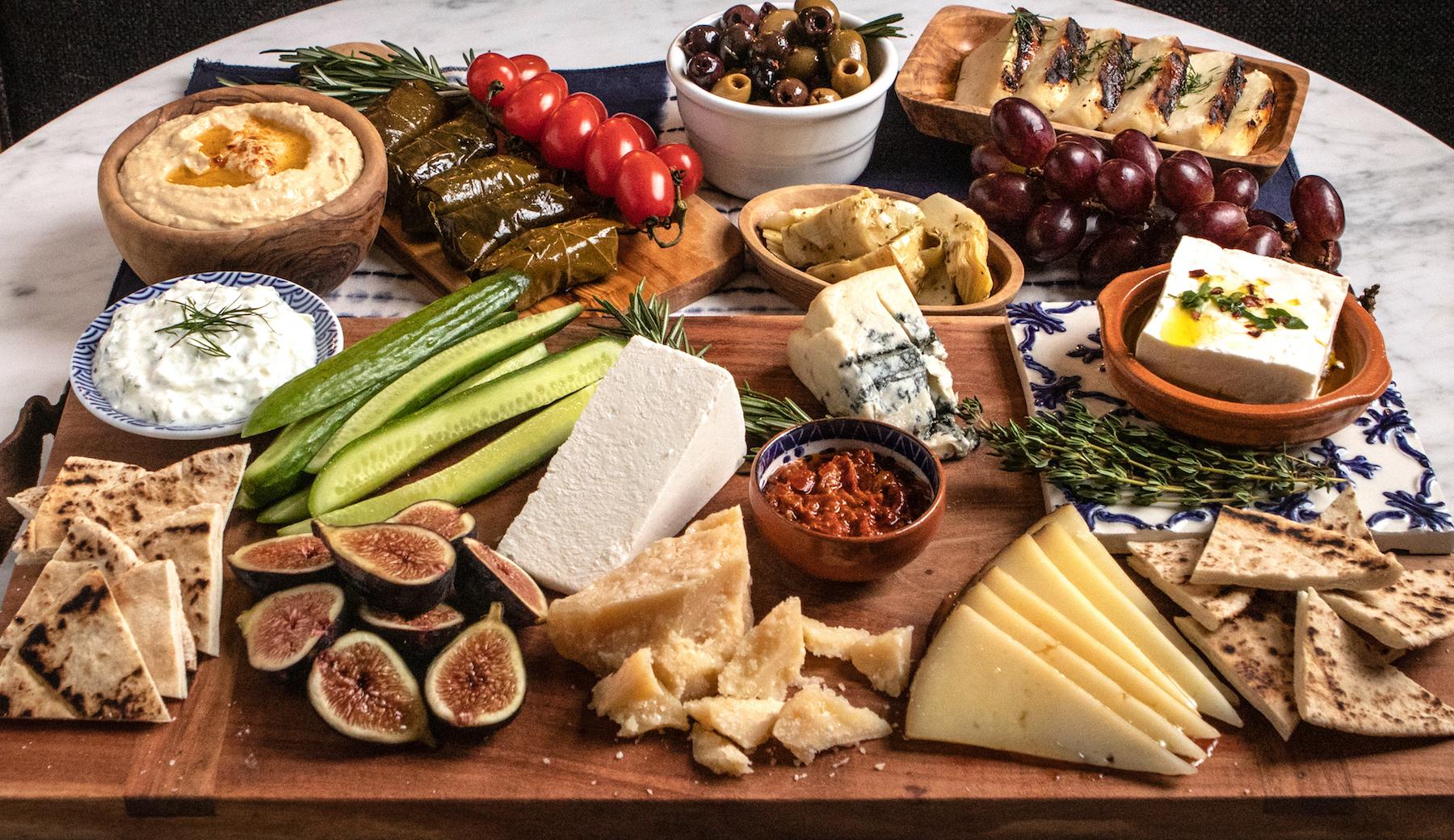 Mediterranean Snackboard