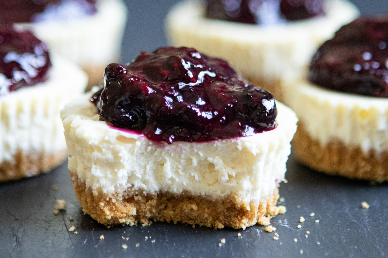 Goat Cheese Cheesecakes small