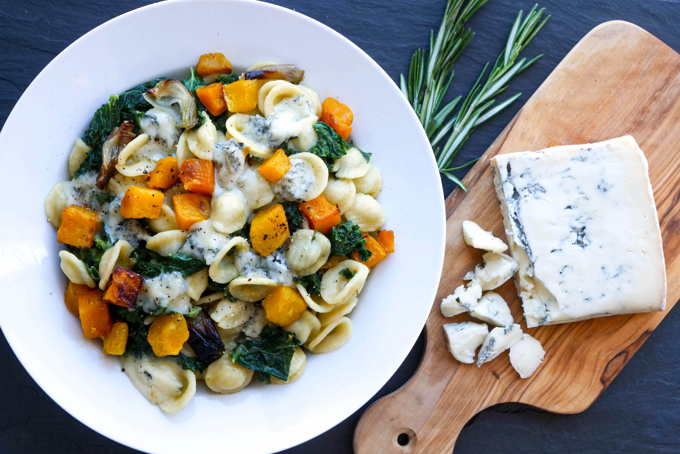 Orecchiette with Butternut and Gorgonzola Dolce
