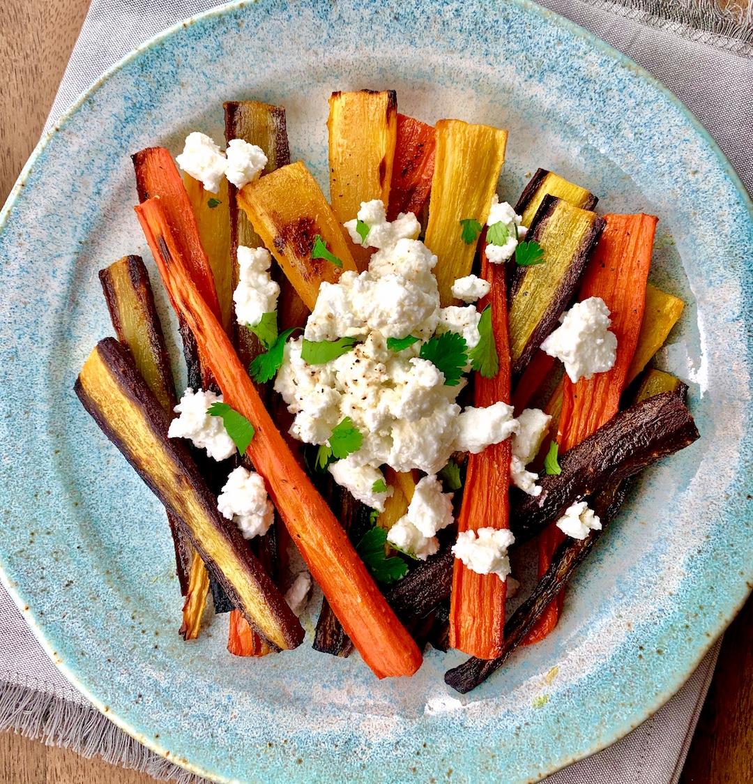 Roasted Carrots w Feta sm