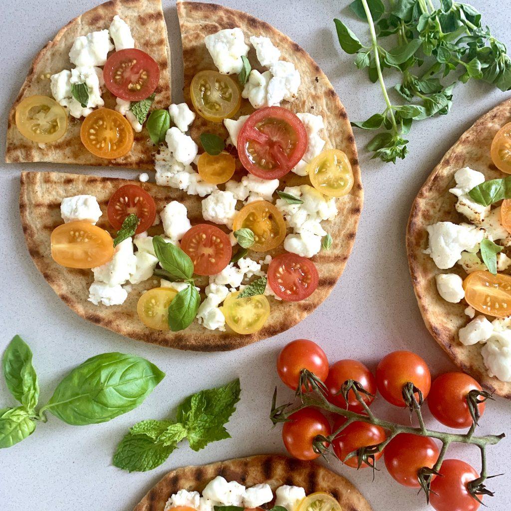 Flatbread Pizza Close Up small