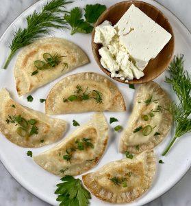 Feta and Potato Vareniki