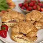 Comte Croissant breakfast sandwich