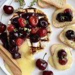 Grilled Camembert w Cherries horizontal sm