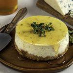 Tiny Savory Imported Blue Cheesecake sm