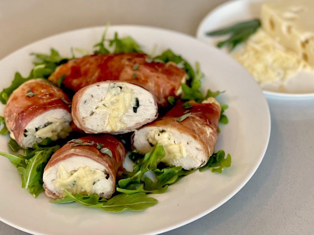 Prosciutto Wrapped Chicken Horizontal sm