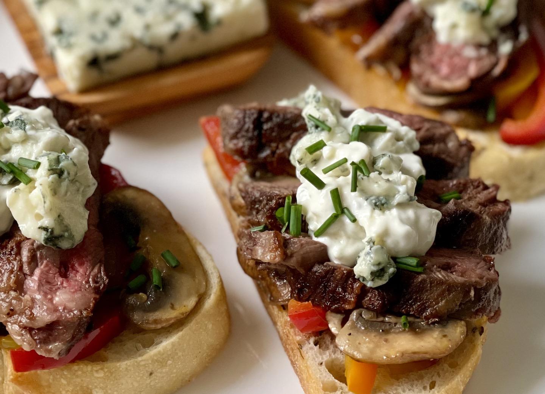 Steak Sandwich w Roquefort sm